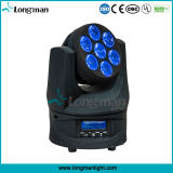 Novo LED Rotating infinita Moving Head Light com RGBW 4in1 LED