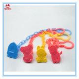 De vrije Ketting van de Fopspeen van de Klem BPA van de Fopspeen van de Steekproef Vrije Plastic