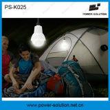 Ventilador de teto solar de 900 mm 36 '12V DC com iluminação e carregamento móvel