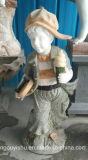 Sur la vente des statues de l'enfant fontaine avec des prix bon marché et de grande qualité