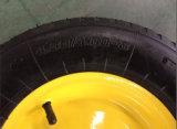 Gomma (aria-riempita) pneumatica amichevole del cliente sulla rotella 4.00-8