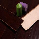 HDF suelo de bambú horizontal Handscraped Cafe