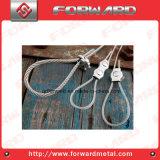 Simplexdrahtseil-Klipp-Kabelklemme