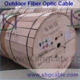 2-12 Fibras Unitube cabo de fibra óptica ao ar livre (GYXTW)