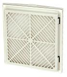 Фильтр вентилятора вентилятора панели приложения шкафа Fk9923 осевой