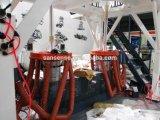 ABA Co-Extrusion 필름 만들기 기계 t-셔츠 부대 필름 압출기