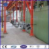 Tipo catenario máquina de Q382c del chorreo con granalla
