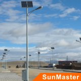 Hot Sale Highway Use 10W Solar Street Lighting System 5 anos de garantia Solar LED Street Light Pole de espessura de 3 mm