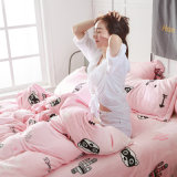 Flanell-Bettwäsche-Sets/Bett in ein Beutel-den Sets/im Mikrovliesduvet-Deckel