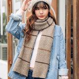 2018 Новые поступленияMan Леди зима осень трикотажные акриловые шарфы