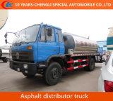 8000L de transporte de asfalto camión/líquido del depósito de asfalto camión tanque térmico