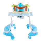 Blaue Farben-im Freienbaby-Wanderer mit 8 Schwenker-Rädern für Verkauf