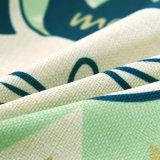 Starker Baumwollleinen-Digital gedruckter Sofa-Rückseiten-Kissen-Deckel-Quadratthrow-Kissen-Kasten
