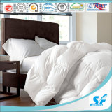 Singolo Bed White Hotel Quilt con Goose Down Filling