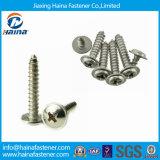 La alta calidad DIN968 Acero Inoxidable Tornillos Autorroscantes con collar