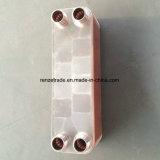 Scambiatore di calore brasato rame del piatto del rifornimento per il sistema industriale di riscaldamento e di raffreddamento