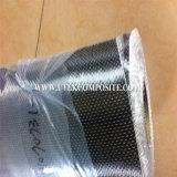 Tela unidirecional de fibra de carbono de 200GSM de largura de 10cm