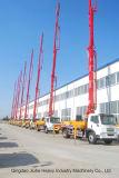 34mはCe&ISO9001の具体的なポンプトラックまたはブームポンプトラックをトラック取付けた