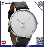 Yxl-854 형식 원인이 되는 대중적인 런던 석영 Geunine 가죽끈 Stopewatch 남자 시계