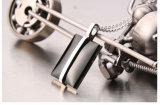 Accessoires de mode collier pendentif en acier inoxydable
