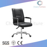 رفاهيّة سوداء جلد مكتب كرسي تثبيت تنفيذيّ ([كس-ك1710202])