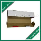 Boîte en carton ondulé personnalisée colorée