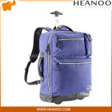 Small Marcas School Rolling Trolley Carry on Luggage Backpack Bag