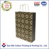Impresión caliente de la bolsa de papel de Kraft de la venta 2016