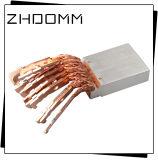 Koper die met Zilveren Plateren machinaal bewerken