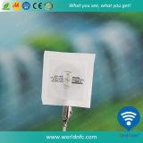 Etiqueta engomada de papel barata de encargo del precio de fábrica Ntag213 RFID NFC