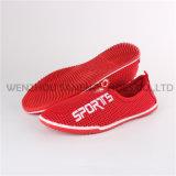 Dernières chaussures de chaussures Lady Sock Chaussures d'injection