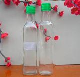 Fantastische hohe weiße unterschiedliche Größen-Olivenöl-Flasche (1056)