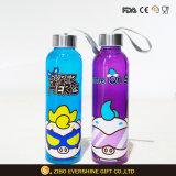 Deportes La botella de agua del vaso de agua de cristal de logotipo personalizado