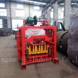Qt4-40 manueller Comressed Block, der Maschinen-blockierenZiegeleimaschine herstellt