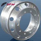 Rotella di alluminio forgiata lucidata e lavorata 22.5X8.25, 22.5X9.00, 22.5X11.75 del camion