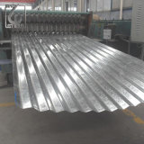 JIS G3302 Z60 Zink Layzer Dach galvanisiertes gewölbtes Stahlblech