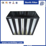De Plastic Frame Gecombineerde Filter van de V-vorm voor HVAC