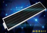 réverbère sec infrarouge de panneau solaire du détecteur de mouvement 40W DEL
