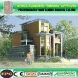 El bastidor de acero galvanizado en caliente un fácil montaje prefabricados modulares Casa Kit