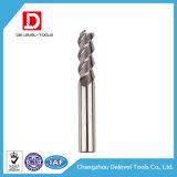 Laminatoio di estremità di alluminio del quadrato del carburo di alta precisione per lavorare di CNC