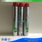 Os tubos de alumínio dobrável de 75 ml