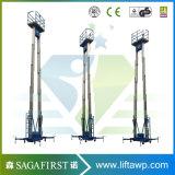 10m verdoppeln Mast, den Aluminiumlegierung oben Höhenruder bemannen