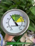 Composer 52mm de long de l'Agriculture de la gaine de sonde extérieure couverte de compost thermomètre indicateur de température du sol