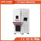 Enclosed тип гравировальный станок 20W 30W 50W 100W Engraver маркировки отметки лазера волокна