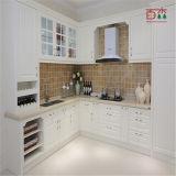 Fácil modular moderno ensamblar la cabina de almacenaje de la cocina