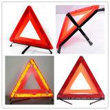 Triangolo d'avvertimento della carreggiata Emergency dell'automobile con E-MARK
