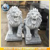 Taille en pierre de milieu de sculpture en lion