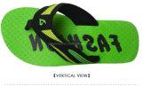 Резина красного цвета ушивальника размера 9 сандалий Flop Flip Mens зеленая