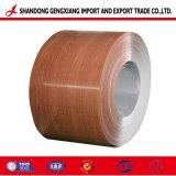 De madeira/em mármore/Brick/Camouflage/Diamante Padrão em relevo a bobina de aço revestido a cor impressa PPGI