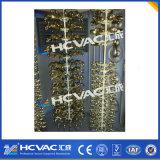 Macchina di rivestimento di titanio della mobilia PVD dell'acciaio inossidabile, strumentazione della metallizzazione sotto vuoto della cremagliera di visualizzazione